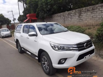unregistered Toyota Hilux