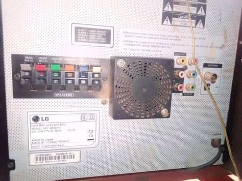 8500watts Very powerful Lg HiFi system intact with everything working